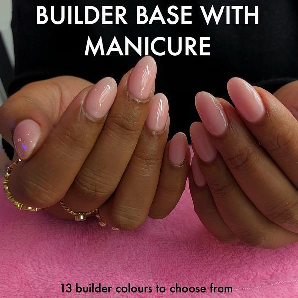 "A builder gel, biab, thegelbottle, manicure, builder, gel, thegelbottle, manicure treatment called ""Builder Gel"" by Anouska Anastasia"